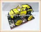 Plastic simulation friction model car off-road plastic jeep toys