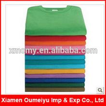 Custom slim fit 95 cotton 5 lycra men t shirt wholesale