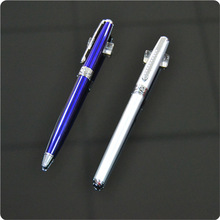 2014 factory hot sell good quality advertising ballpoint pens making in metal sample is free in guangzhou
