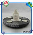 sgb01 placa de resina chino antiguo estatua de buda de protección