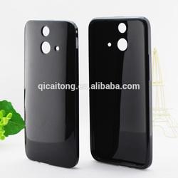 mobilephone tpu clear gel tpu cover for HTC ACE E8 /ONE MINI 2