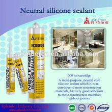 silicone sealant/ splendor coloured silicone sealant