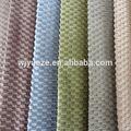 100% poliéster impresa urdimbre de tela de terciopelo para muebles
