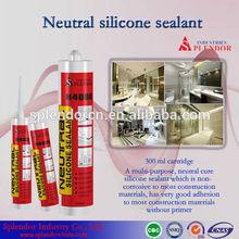 silicone sealant/ splendor silicone sealant for window glass