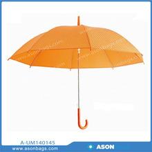 New Style Orange Transparent PVC Umbrella