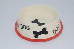 cartoon dog bowl