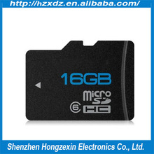 High speed 16gb micro sd cards full storage memory card with free adapter