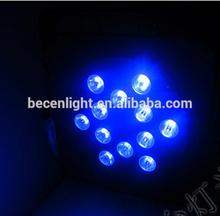12x10W led par 64 rgbw 4in1 Tri LED par can light dj flat par light