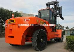 SOCMA manufacturer 30 ton side load forklift truck