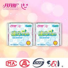 Nuevo y rápido de la venta femnie panty liner para el uso diario