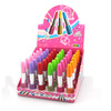45 colors Mixed wholesale fashion 9.8cm lipstick bling pen for promotion