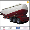 hot sale promotion 3 Axles 50 M3 cement bulk trailer with Bohai air compressor Stirring price good quality