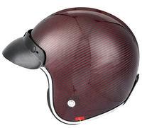 Half face helmet, full carbon shell,3K woven, DOT test