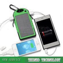 THINKO design Outdoor Waterproof mini solar chargers mobilephone