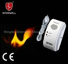 lpg gas leak detector alarm GS863 conforms to en50194