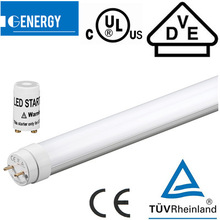 t8 led tube ul 120VAC 230VAC high quality 20W office T8 led tube light DLC TUV CE