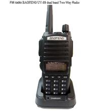 NEW model handheld radio 128CH FM BAOFENG UV-89 dual band walkie talkie