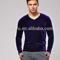 t-shirt korea design bulk t-shirt sales bamboo fiber t-shirt velvet men t shirts