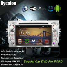 Car dvd ford focus android/car entertainment system with gps ford focus/Video DVD 3G with wifi FM bluetooth funtion