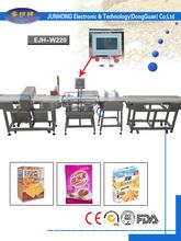 packing & metal detector conveyor weight checking machine