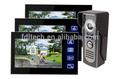De sécurité à domicile système wifi téléphone visuel de porte système d'interphone pour les appartements, câblé intercom vidéo porte téléphone débloquer