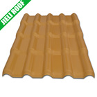 architectural asa pvc roofing tiles