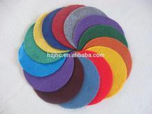 Needle punched polyester fashionable nonwoven felt mat