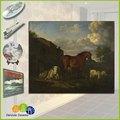 جدارية خزفية الاستنساخ الفن صور حيوانات المزرعة