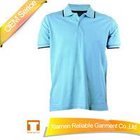 220GSM 100% pique cotton blank polo shirt China supplier design your own polo shirt manufacture/No MOQ