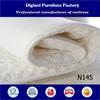 Thin ripple felt mattress pad for kids (N145)