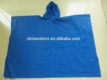 eva PVC/polyester raincoat rain jacket for adult