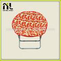 lavable de ocio tela cómoda de venta al por mayor baratos lienzo colorido niños luna de leopardo ligero silla plegable
