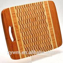 Custom Russia Style Rectangle Bamboo Wood Cutting/Chopping Cheese Board