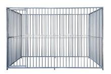 Metal tube large dog kennel/dog cage/dog house for sale