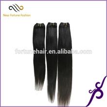 Ali queen hair High quality virgin 100% virgin brazilian silky straight hair wefts