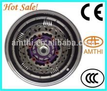 hub motor 10kw, electric hub motor made in China, electric electric wheel hub motor