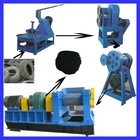 Recycled rubber tire mulch/tire recycling machine
