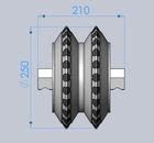 """10""""roller disc cutter"""
