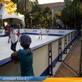 UHMWPE panel de hielo sintético para construir pista de patinaje sobre hielo, Hockey sobre pista de hielo sintética