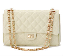 2014 sexy casual suede wholesale high end fashion quilted leather lady chain handbag EC6231