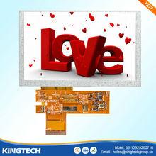 5 inch tft active matrix lcd display480X272