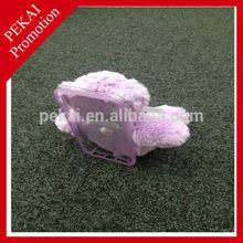 New design little bear shape plastic mobile phone case