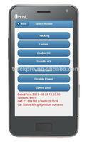 phone based and web based gps tracking software