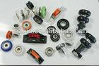 OEM nylon pulleys small plastic pulley,steel sliding door rollers wheel