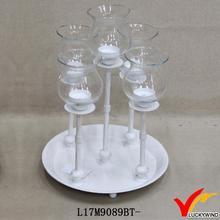 wedding table decoration candle holder tea lights insert