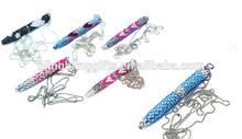 wholesale fashion 10.5cm twist crystal ball pen cute promotion pen
