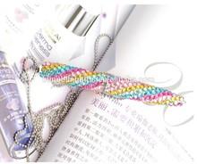 wholesale fashion 10.5cm twist diamond ball pen cute promotion pen