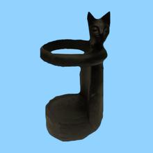 Cat shape resin wine bottle holder