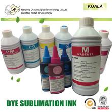 Dye sublimation ink, transfer ink