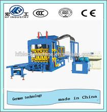 Full automatic concrete block machine , cement block machine production line for QT6-15